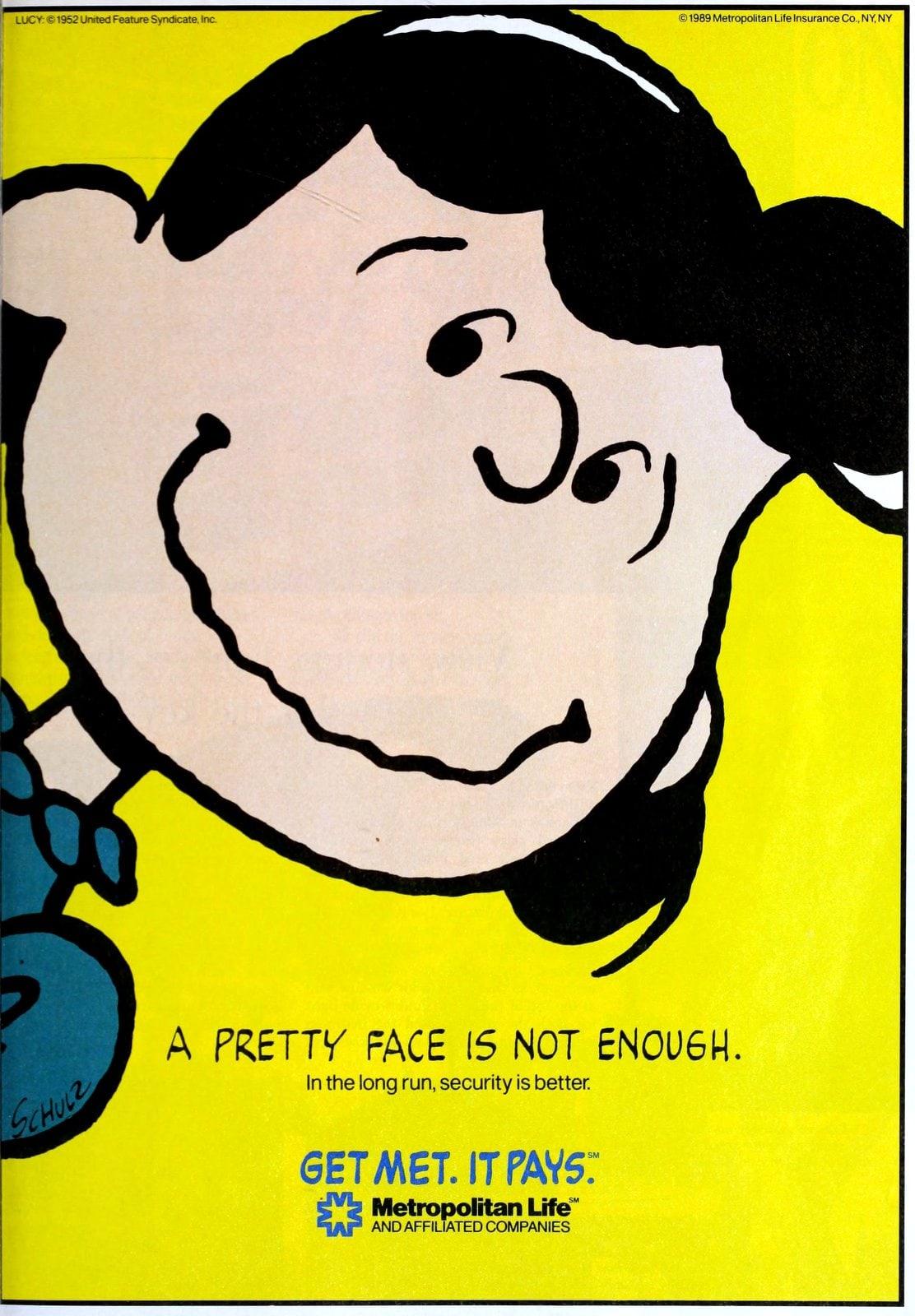 Lucy Van Pelt - Peanuts for Met Life (1989)