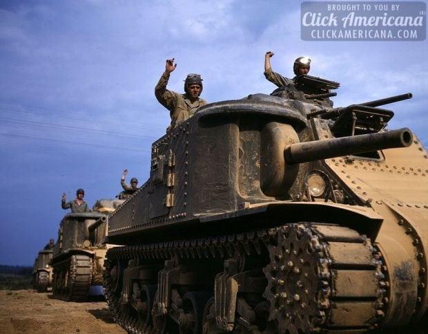 M-3 tank, Ft. Knox, Ky