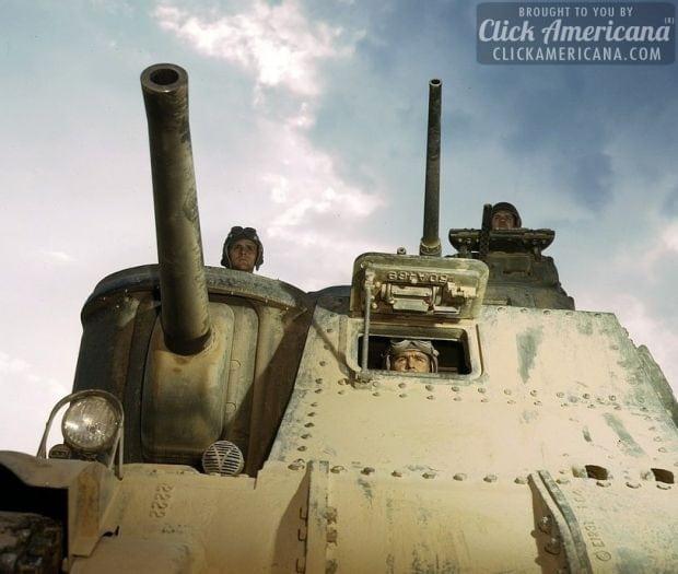 M-3 tanks and crews, Ft. Knox, Ky