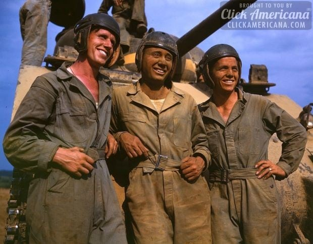 M-4 tank crews of the United States, Ft. Knox, Ky