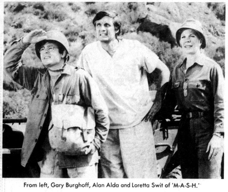 MASH cast in 1979