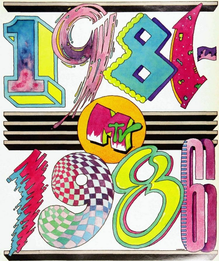 MTV's 5th birthday celebrated in Billboard 1981-1986 (7)