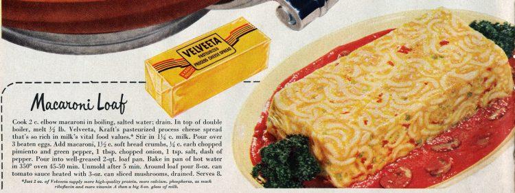Macaroni loaf pasta recipe