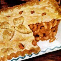 Macaroni pie vintage 50s recipe
