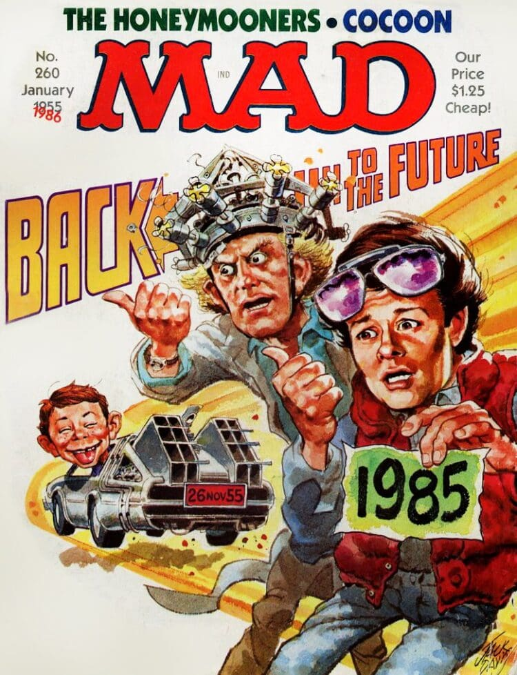 Mad Magazine Back to the Future - January 1986