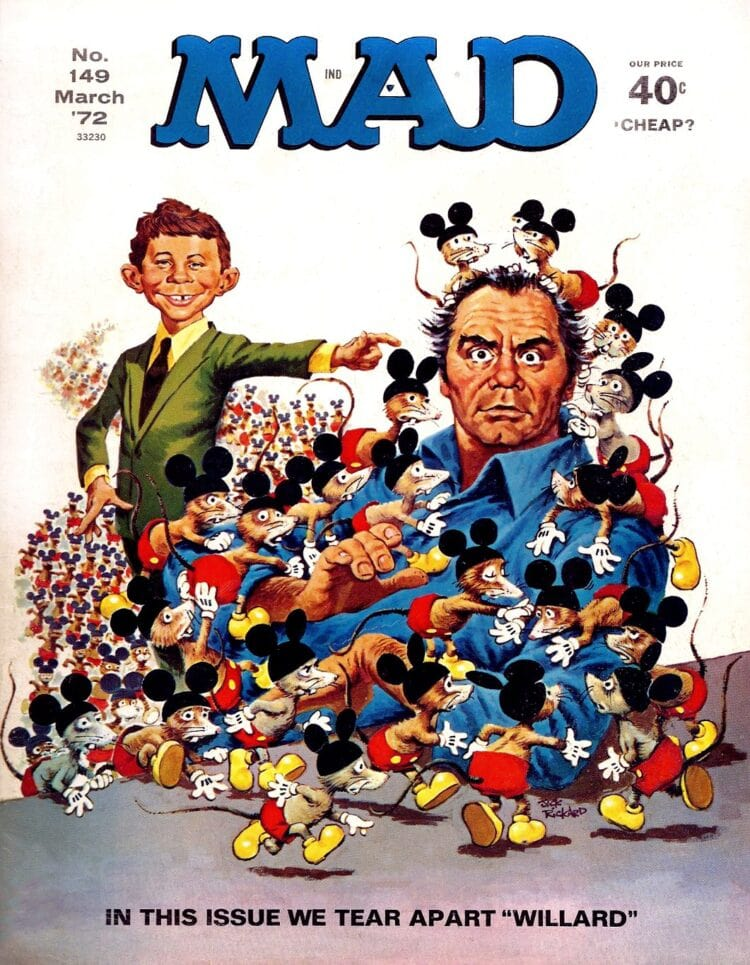 Mad Magazine - March 1972 - Willard