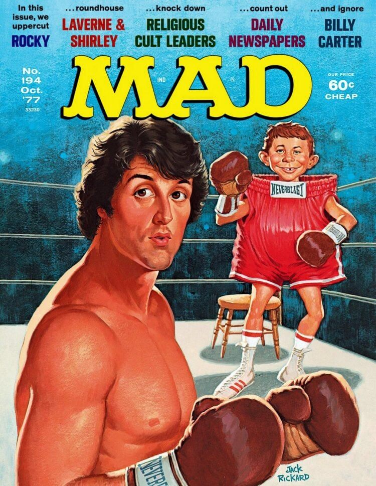 Mad Magazine - Rocky - October 1977