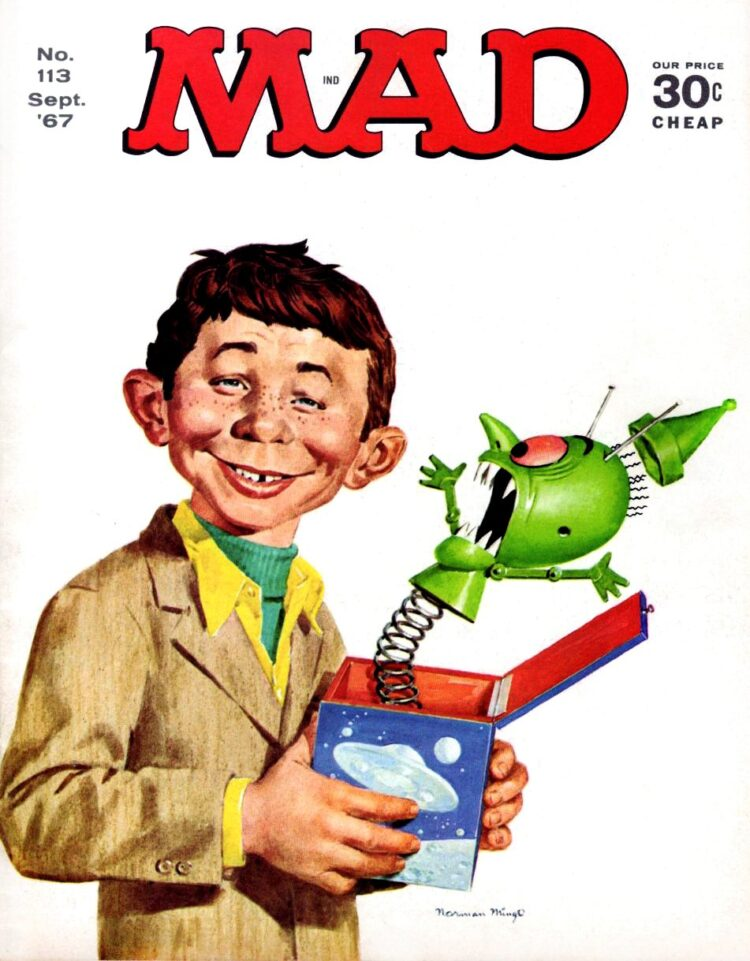 Mad Magazine September 1967