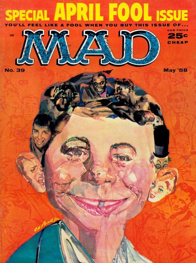 Mad magazine - May 1958