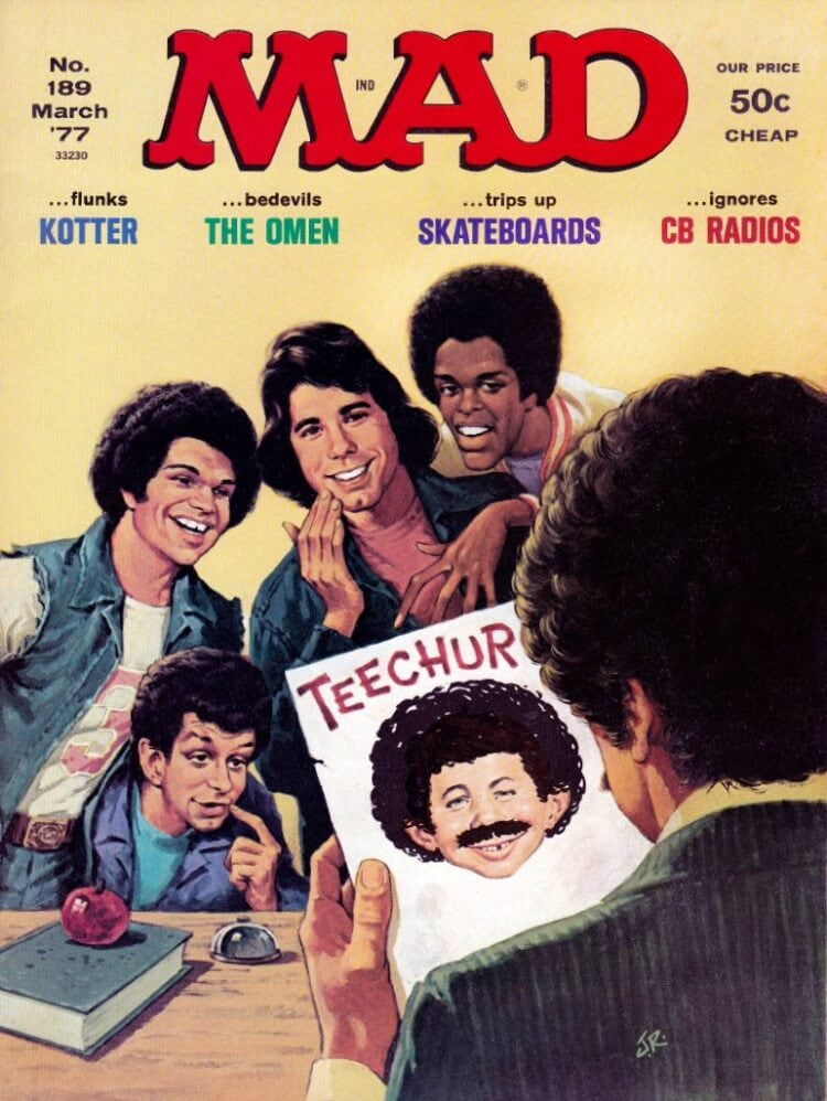 Mad magazine - Welcome Back Kotter - March 1977