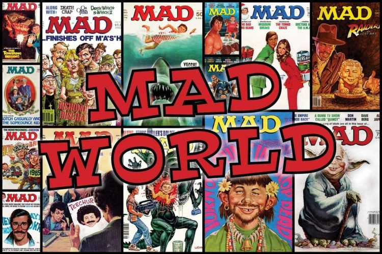 Mad world: See 30+ vintage MAD magazine covers, and find out the magazine's history