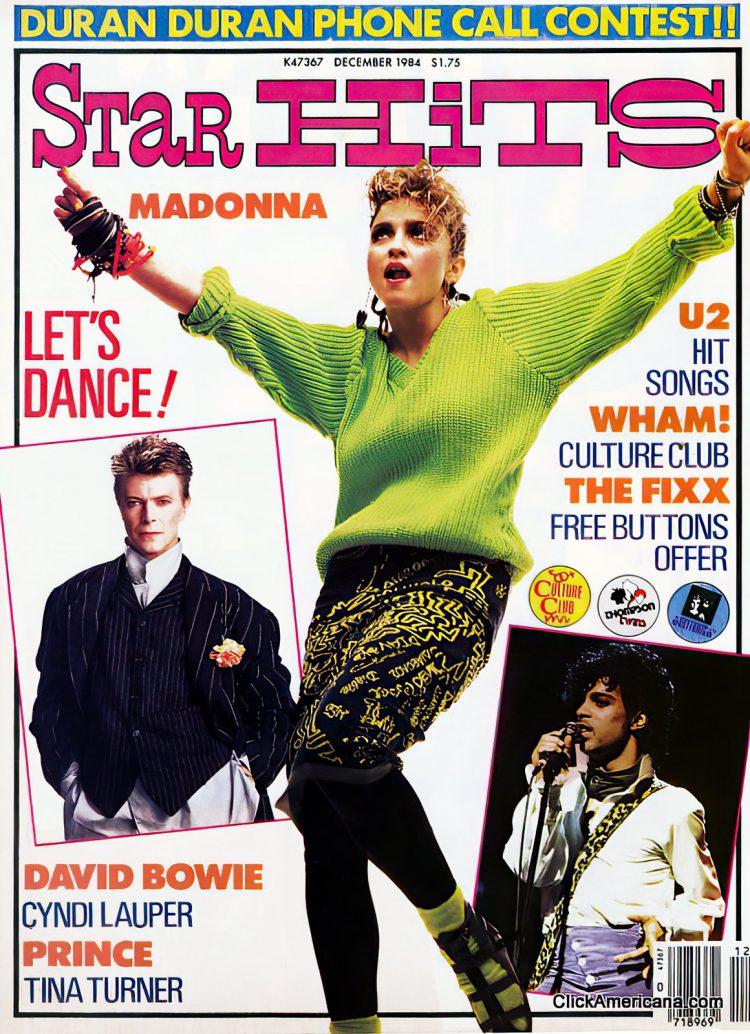 Madonna - Vintage Star Hits magazine 1984