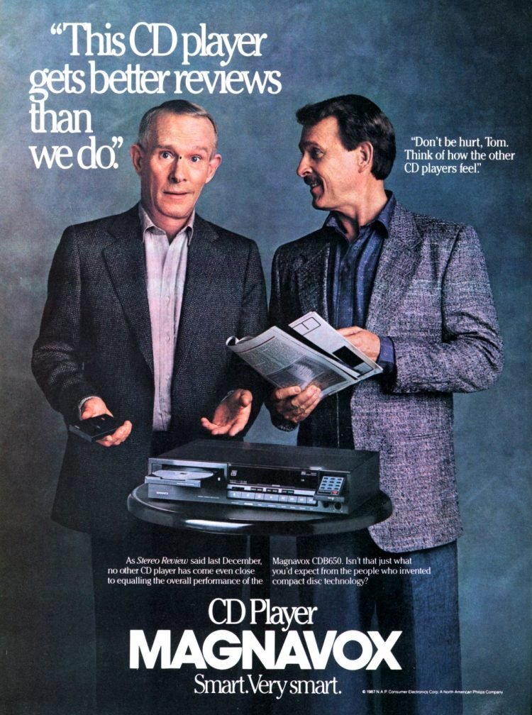 Magnavox CD player 1987 - Smothers Brothers