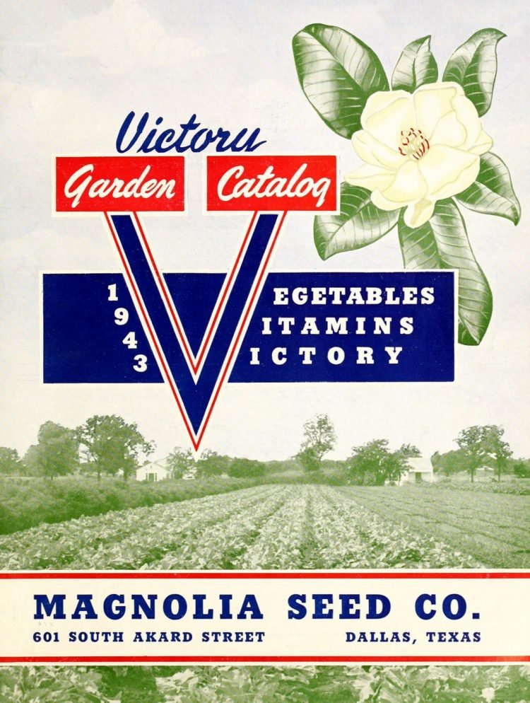 Magnolia Seed Victory Garden catalog from 1943