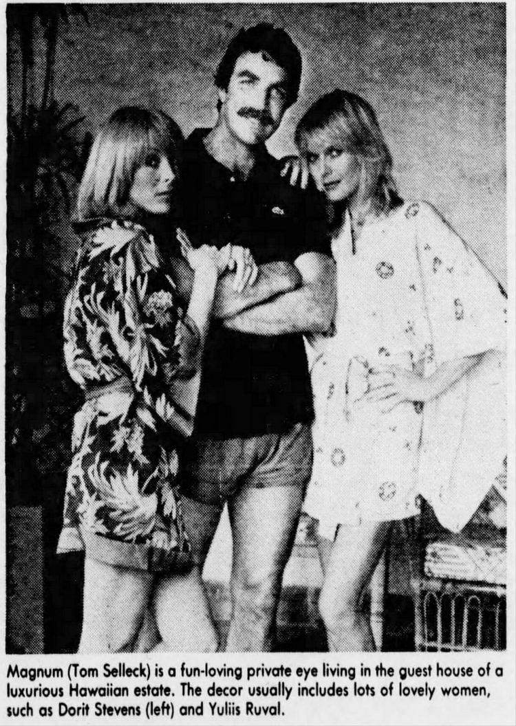 Magnum PI TV show 1981