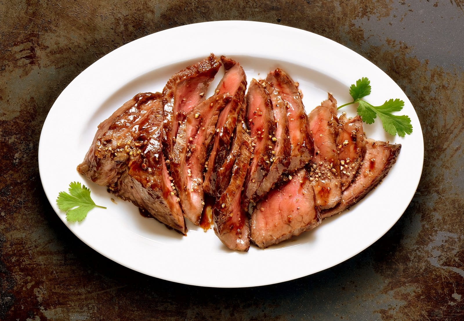 Mai tai steak - Retro recipe for flank steak with pineapple juice marinade (1968)