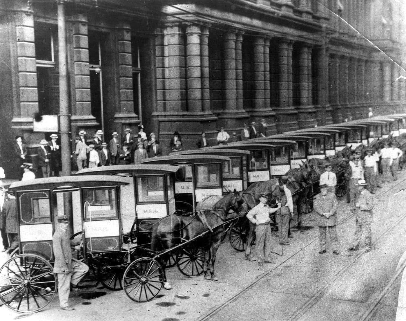 Mail Collection Wagons 1905