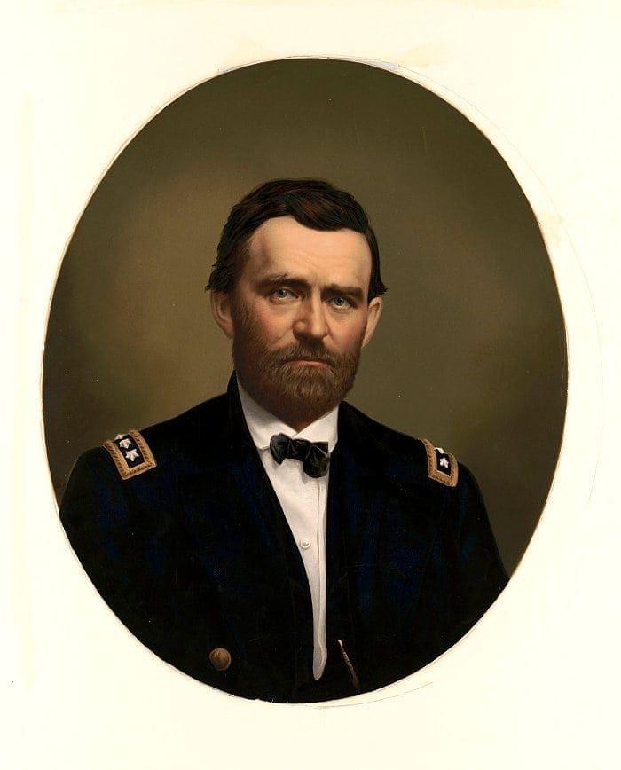 Major General Ulysses S. Grant in uniform