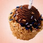 Make Rice Krispie birthday ice cream cups! 1997 (2)