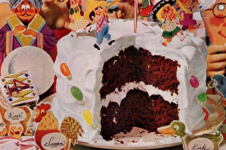 Make a County Fair Party Cake (1962)