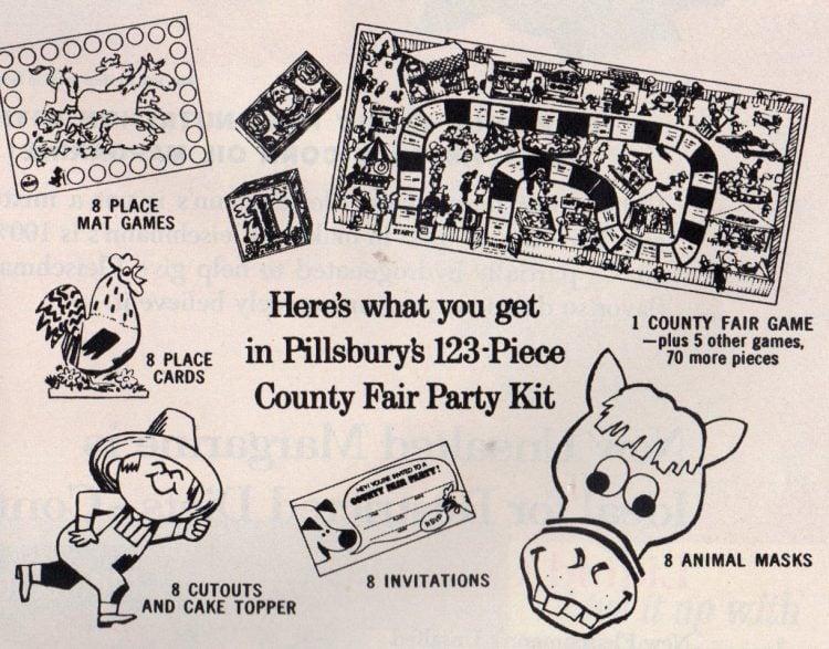 Make a County Fair Party Cake (1963)