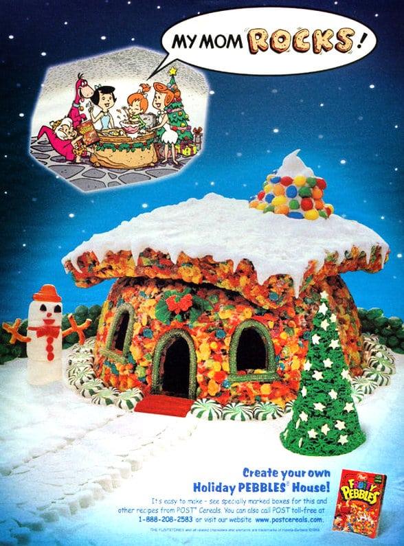Make a fruity pebble house - 1999