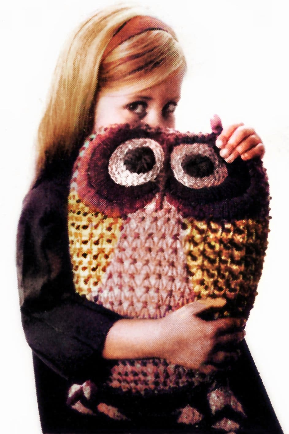 Make an embroidered owl pillow