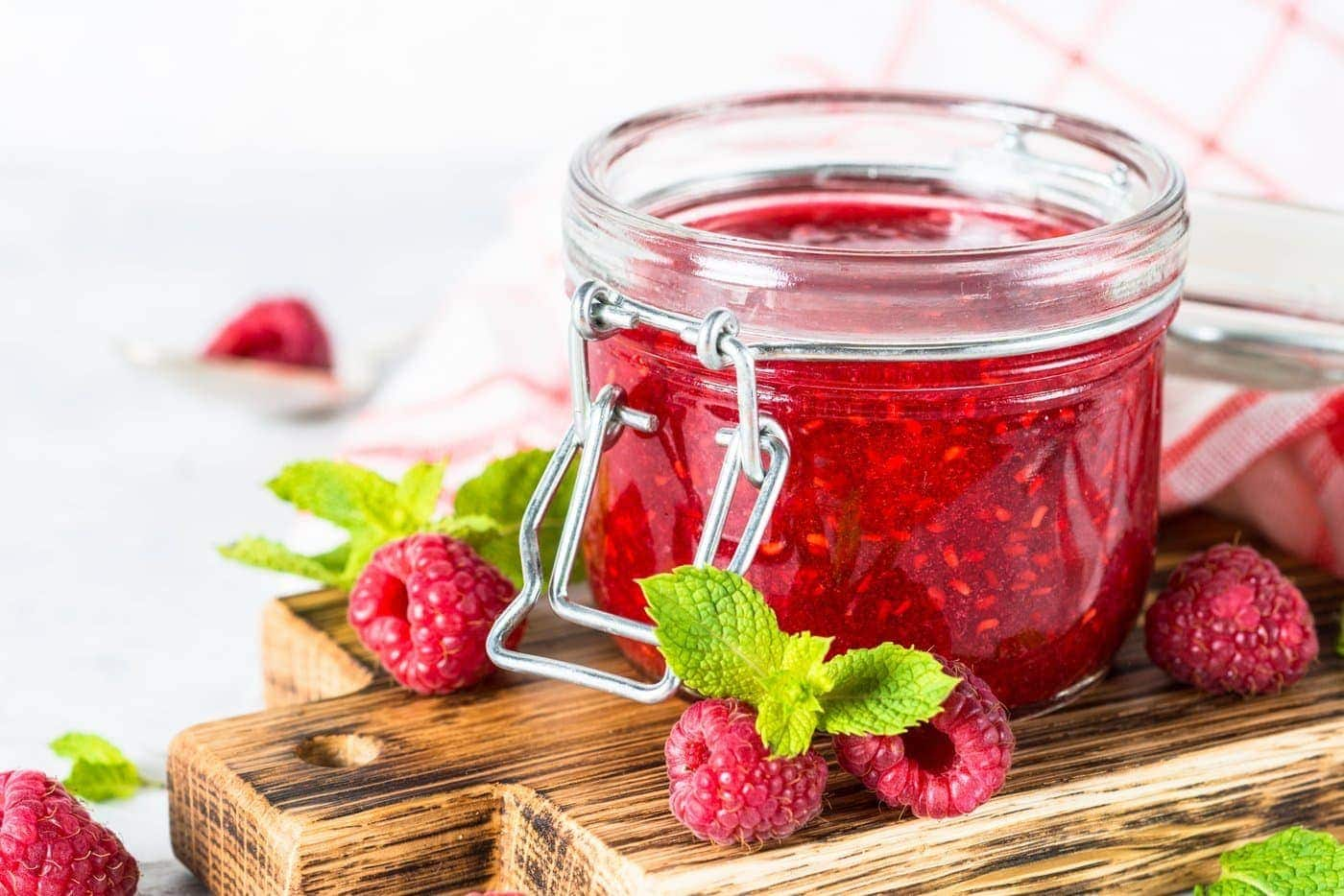 homemade jam and jelly