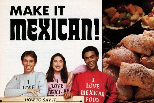 Make it Mexican - retro recipes from 1982 (1)