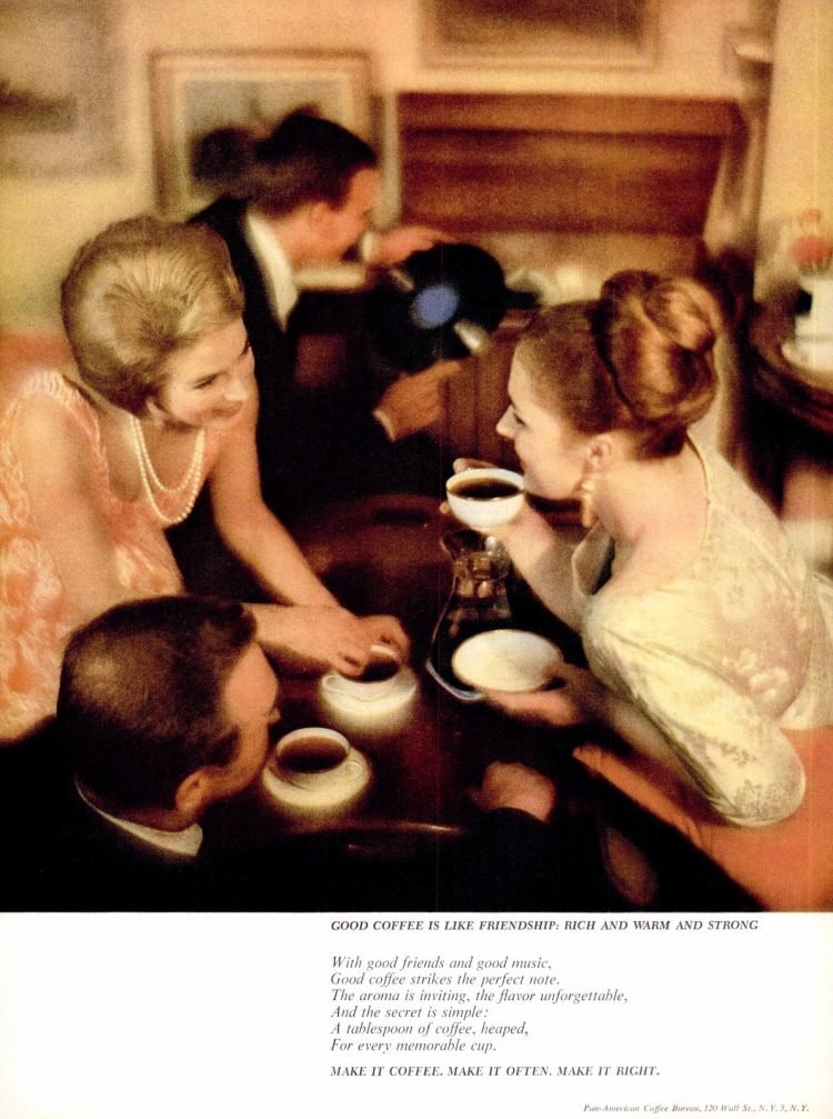 Make it coffee - Vintage 1962