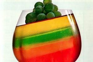 Make striped jello Multi-stripe delight gelatin dessert recipe