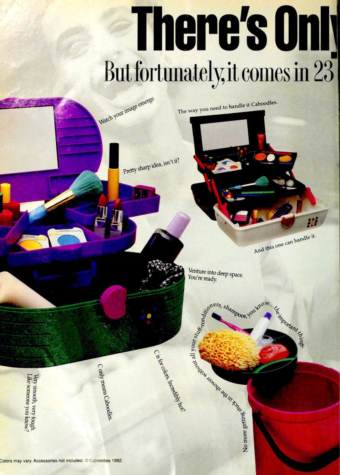 Makeup and jewelry organizer -- Caboodle (1992)