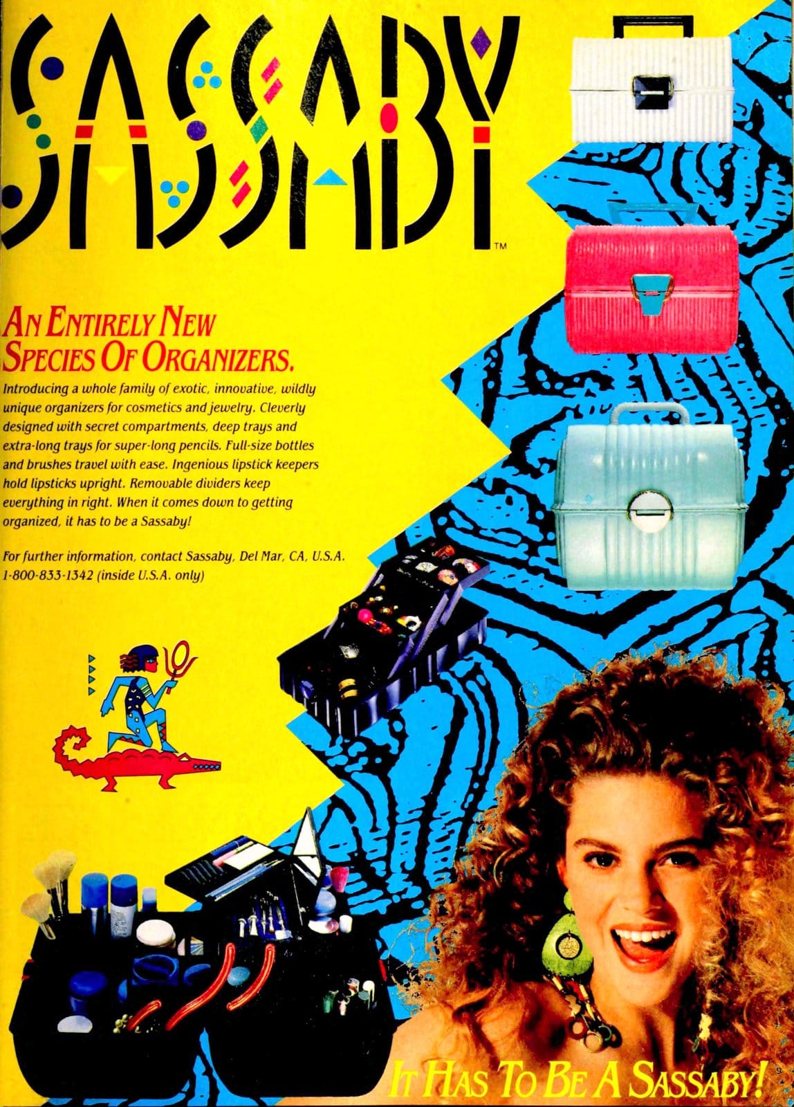 Makeup organizer -- Sassaby (1991)