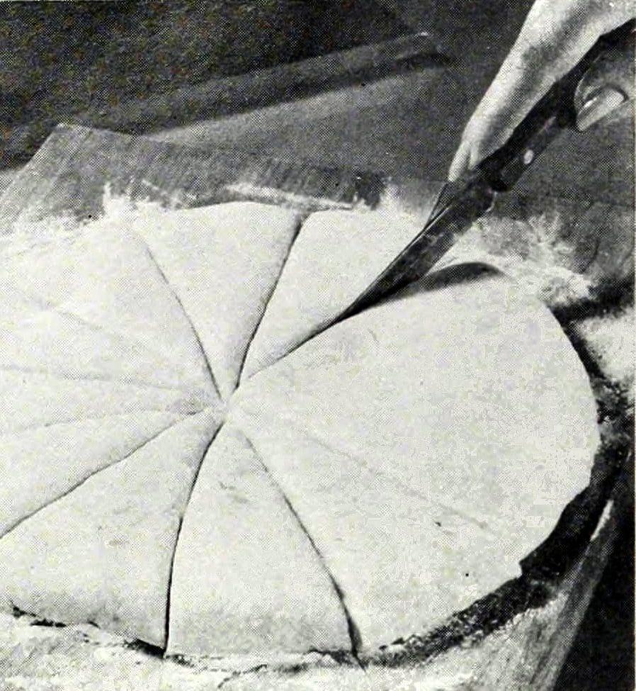 Making potato corn triangles