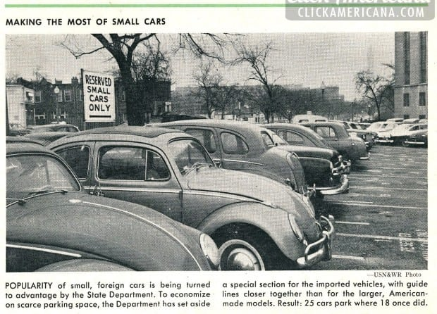 Making the most of small, foreign cars (1958) - Click Americana