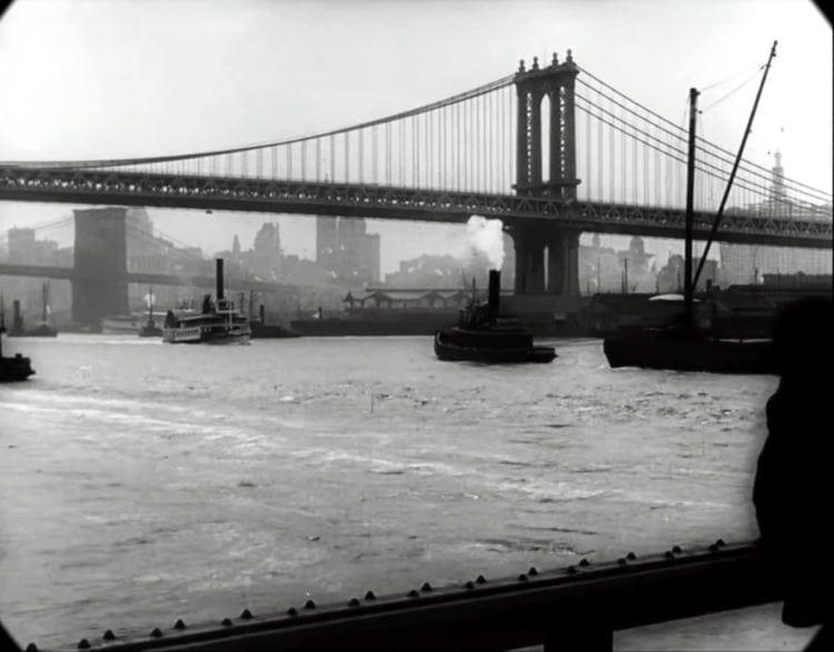 Manhattan Bridge - New York in 1911