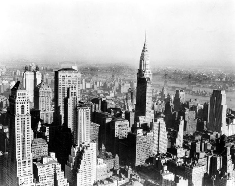 1931 - Manhattan skyline