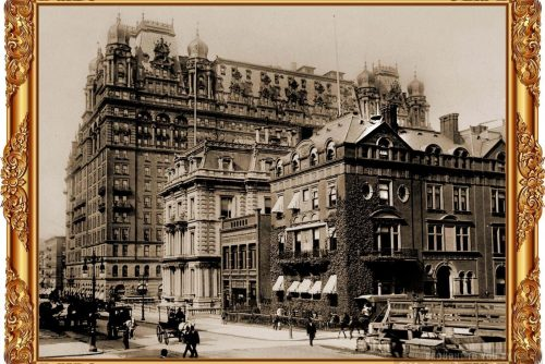 Manhattan's magnificent old Waldorf-Astoria Hotel