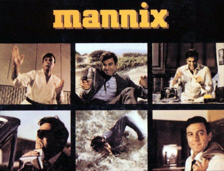 Mannix TV show theme music album