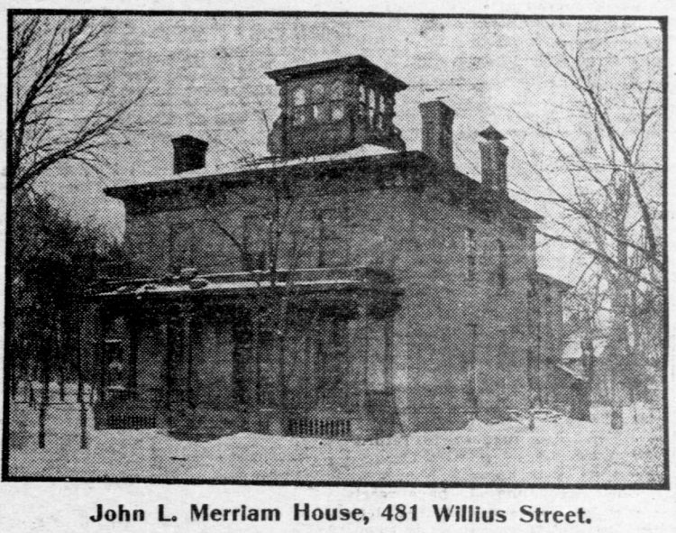 Mansard roof homes in St Paul, Minnesota - Edwardian architecture 1904 (1)