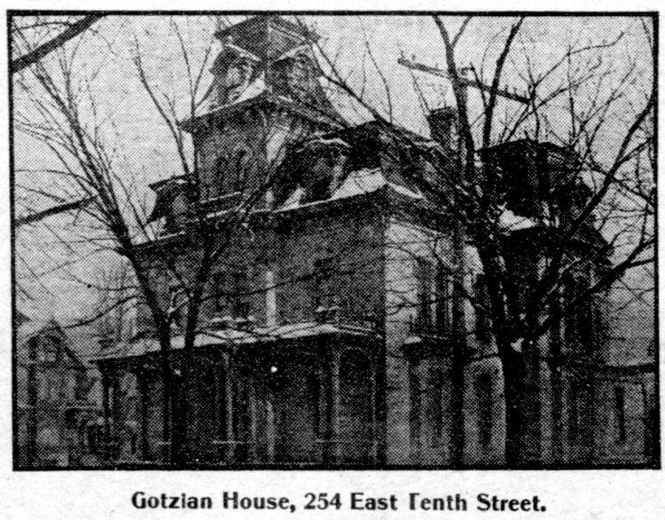 Mansard roof homes in St Paul, Minnesota - Edwardian architecture 1904 (2)