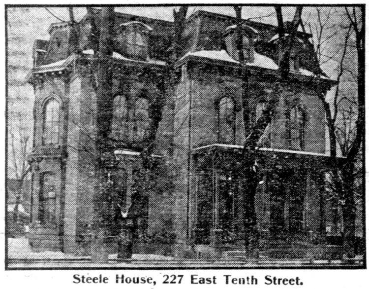 Mansard roof homes in St Paul, Minnesota - Edwardian architecture 1904 (3)