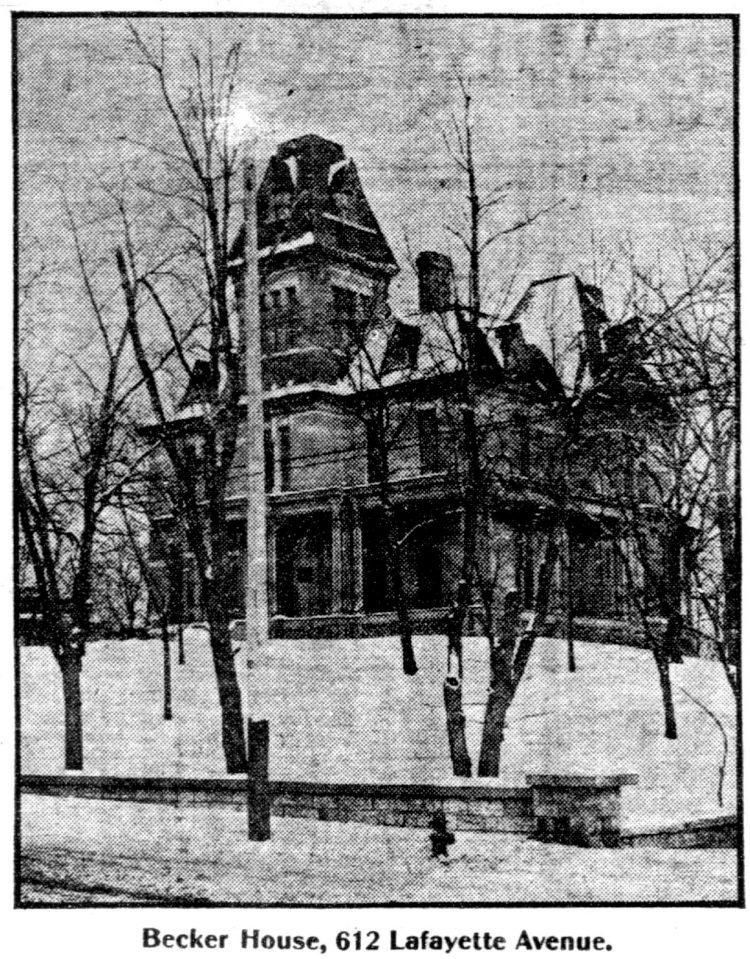 Mansard roof homes in St Paul, Minnesota - Edwardian architecture 1904 (4)