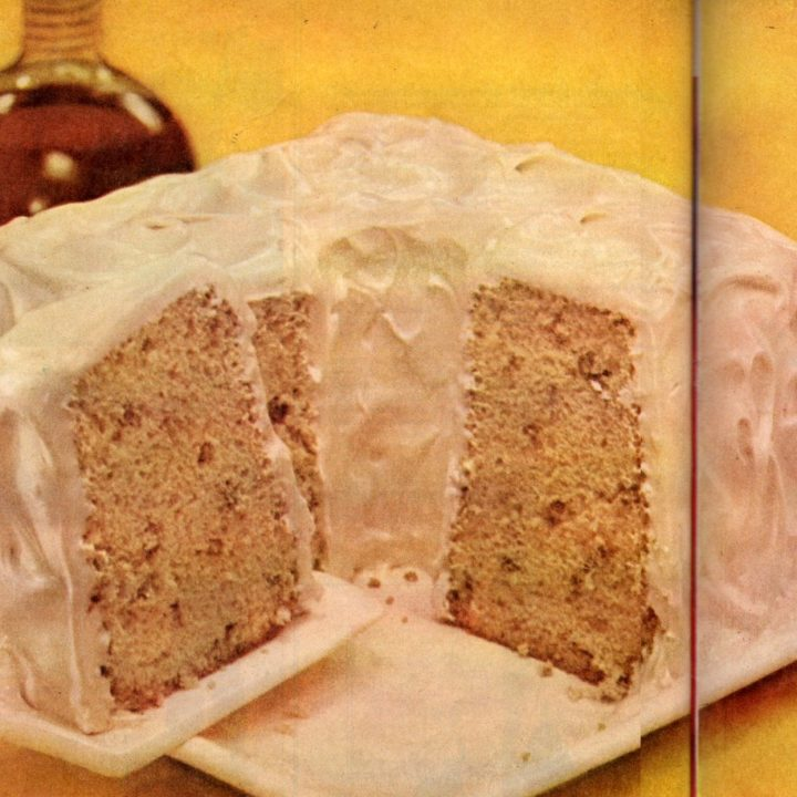 Maple-pecan chiffon cake recipe - 1956 classic dessert (2)