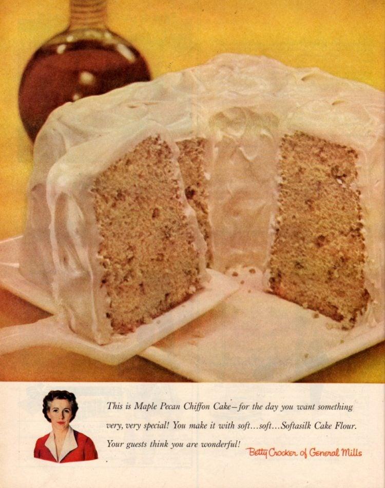 Maple-pecan chiffon cake recipe - 1956 classic dessert (3)