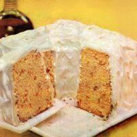 Maple-pecan chiffon cake recipe A classic dessert from 1956