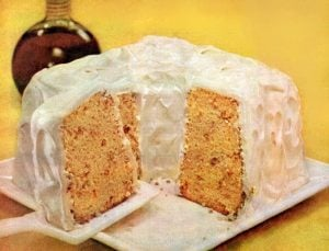Maple-pecan chiffon cake recipe A classic dessert from 1956