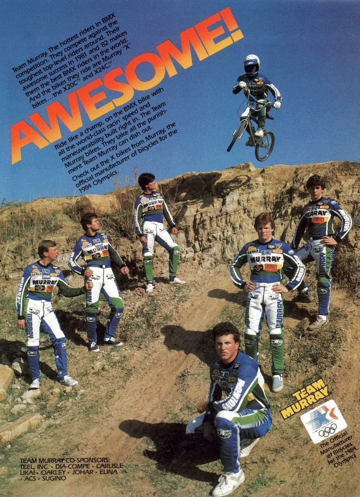 Mar 1983 Murray BMX bikes