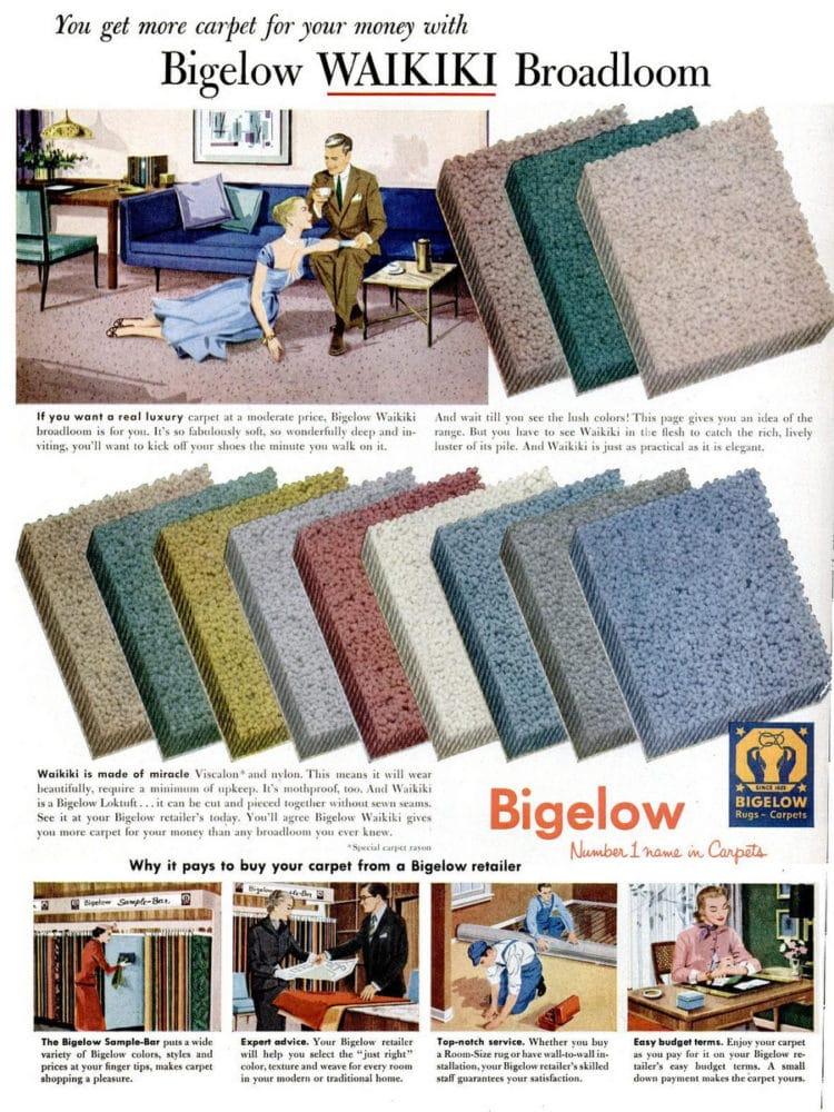 Mar 21, 1955 Bigelow carpet