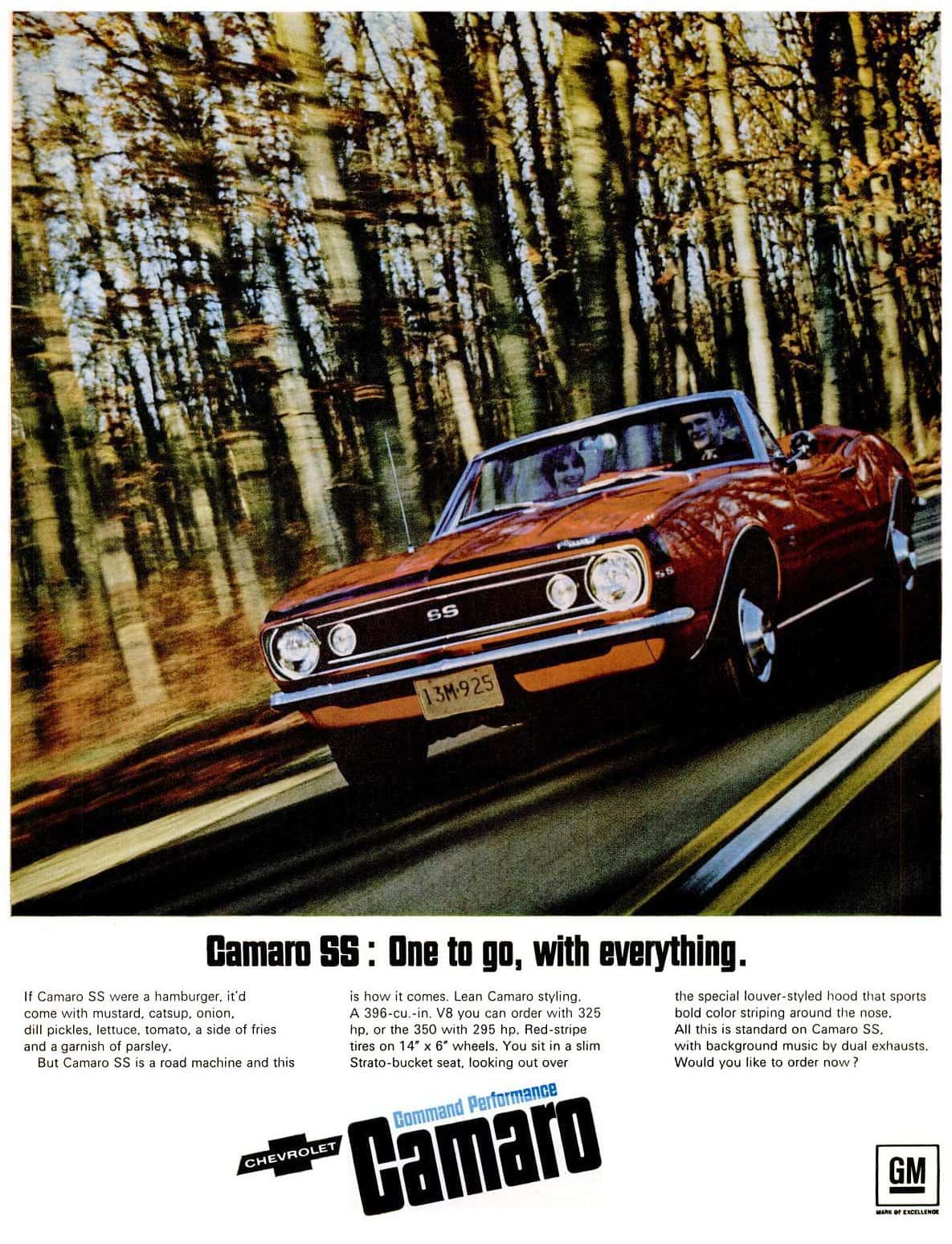 Mar 31, 1967 Chevrolet Camaro cars